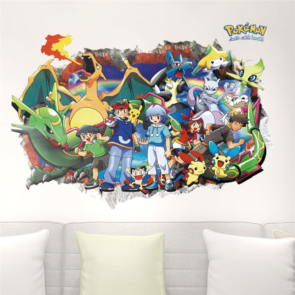 Pokemon Go 3D Wall Stickers
