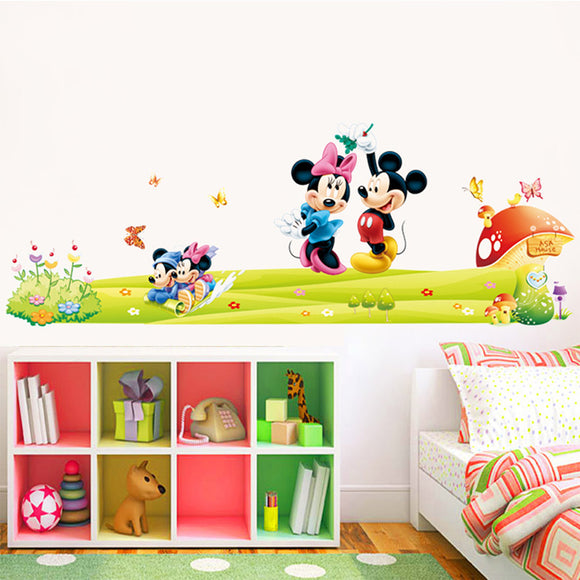 Mickey Minnie Wall Stickers - outdoor