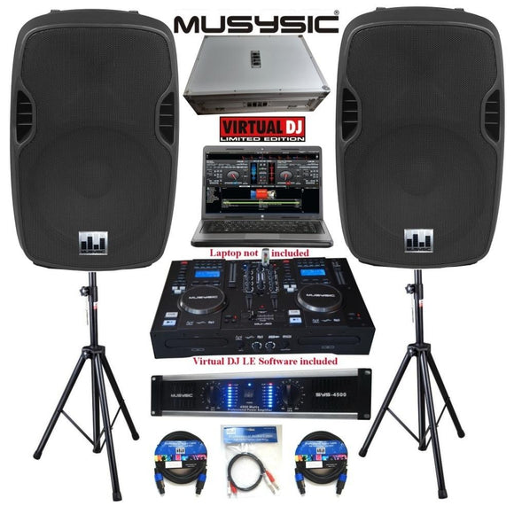 DJ speakers for sale by Musysic
