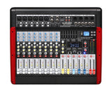 Professional 10 Channel PA Mixer Dual 24-bit 99FX USB interface MU-G10DX