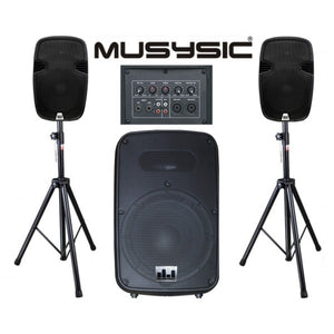 powered speakers2000W for sale