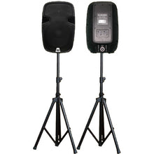 Power speakers 2000W with stands