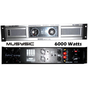 Car amplifier 6000 watts