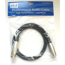 XLR male to XLR female Cable 3 feet