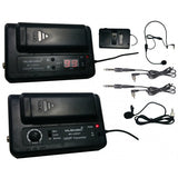 Professional UHF Wireless Microphone System for Guitar Camcorder MU-U99GT