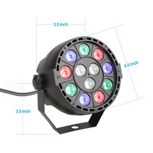 Complete Professional 4-Par Stage LED Lights DJ Band DMX System & Stand MU-L31A
