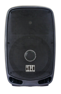 "Pair Professional 4000W Power DJ PA BT 15"" Speakers -Link Both Wirelessly-2 PCS"