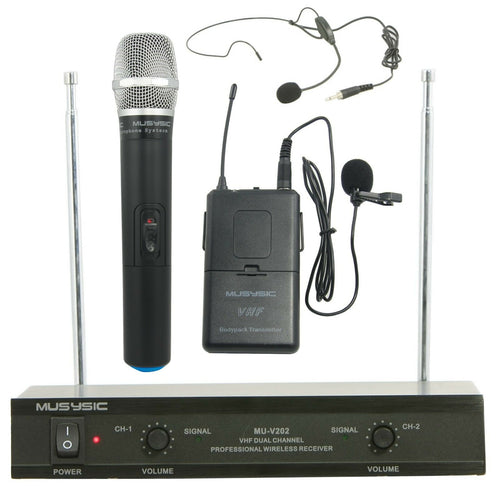 wireless microphone systems for sale