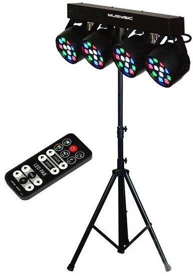 DJ  lights with stand