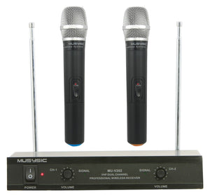 wireless microphone systems VHF technology
