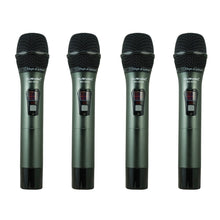 4-Channel UHF Diversity Wireless Handheld Microphone System (4x40 FQ) MU-UDX4-HH