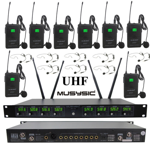 wireless microphone systems UHF technology