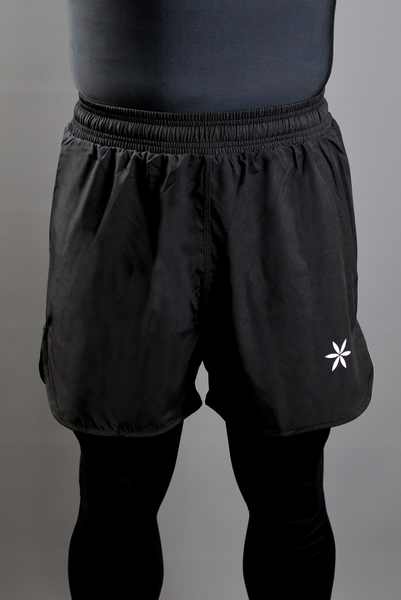 Unisex Superlight Black Shorts