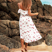 Ditsy Floral Beach Dress