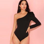 One Shoulder Bodysuit