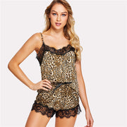 my-coconut-heart - Leopard-Print Cozy Pajama Set