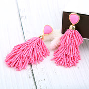 Beads Drop Earrings