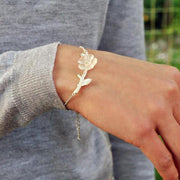 my-coconut-heart - Flower Bracelet 925 Sterling Silver