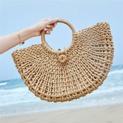 Summer Straw Hollow Out Handbag