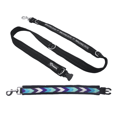 Premium Multifunctional Leash - Blue Stripes