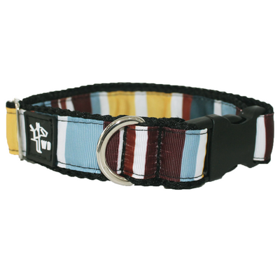 Premium Collar - Flag Brown
