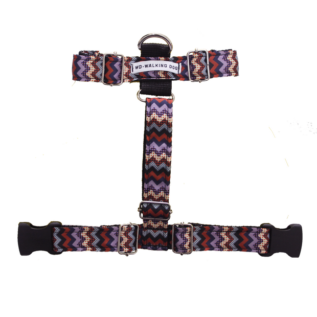 Daily Harness - Brown  Stripes