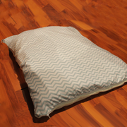 "Pillow Bed ""Cover"" - Mint Stripes"