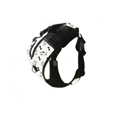 Work Harness - Black and White