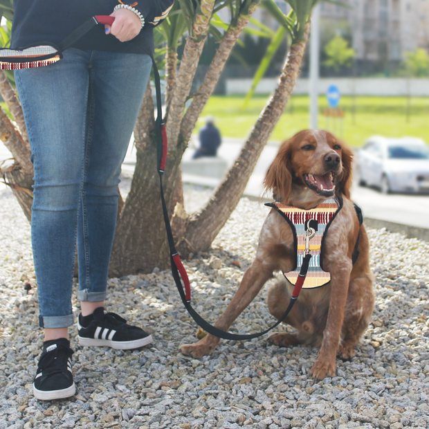 Work Multifunctional Leash - Dark Red