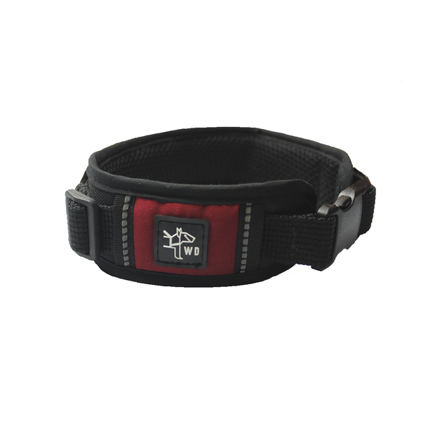 Work Collar - Dark Red