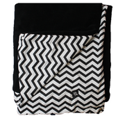 "Pillow Bed ""Blanket"" - Black Stripes"