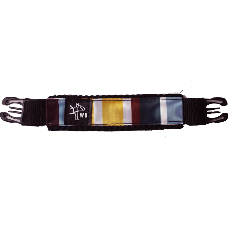 Premium Harness Handle - Flag Brown