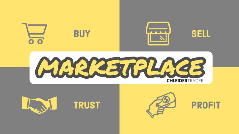 Chleidertrader Marketplace Grand Opening (German)