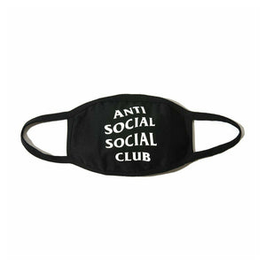 ASSC White Logo Face Mouth Mask
