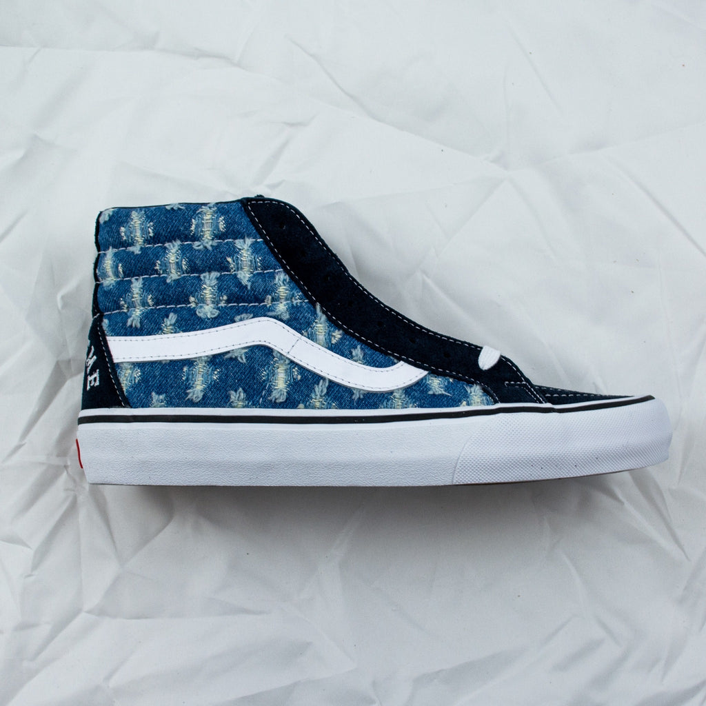 Sk8-Hi Supreme Hole Punch Denim Blue