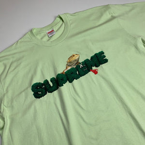 Lizard Tee Pale Mint