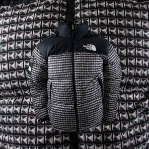 TNF Studded Nuptse Jacket Black
