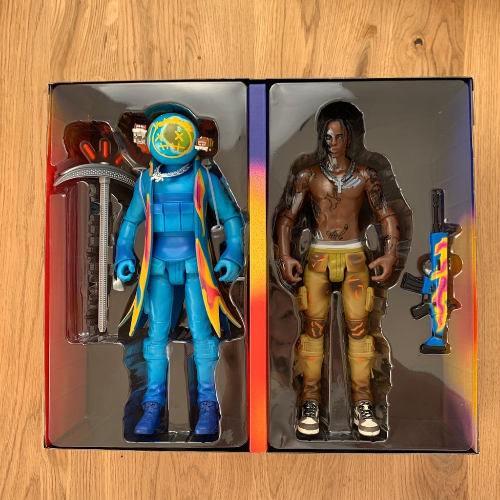 "CACTUS JACK FOR FORTNITE 12"" ACTION FIGURE DUO SET"