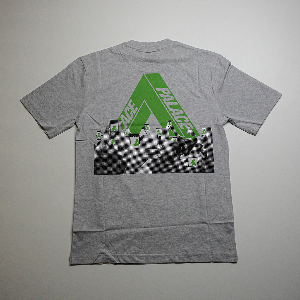 Tri-Phone Tee Grey Marl