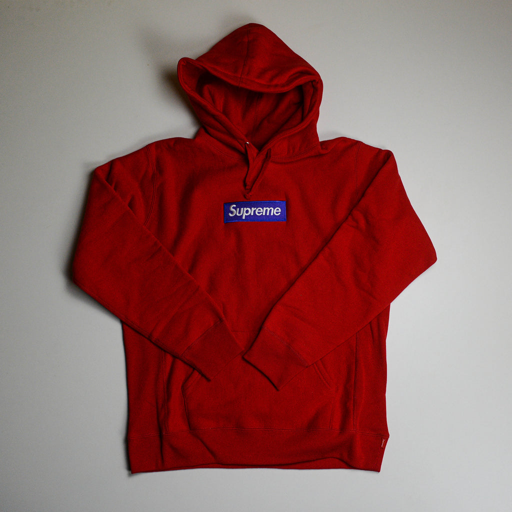 Box Logo FW17 Purple on Red