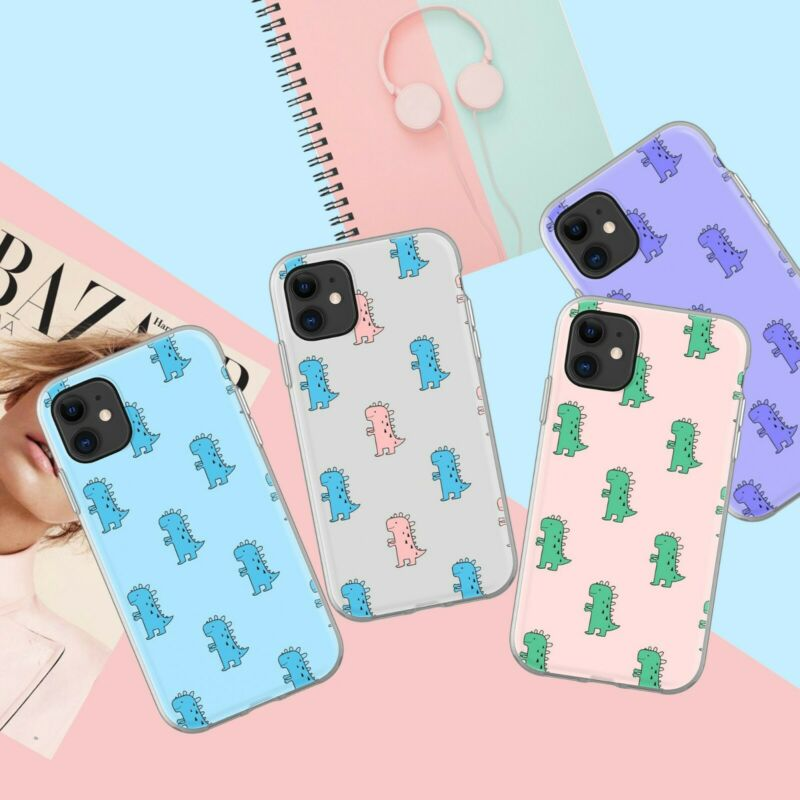 Cute dinosaur Case for iPhone 7 and iphone 8
