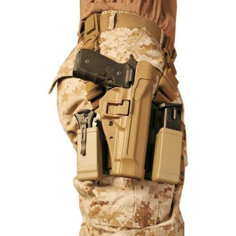 Serpa Tactical Level 2 Holster with USMC Medallion
