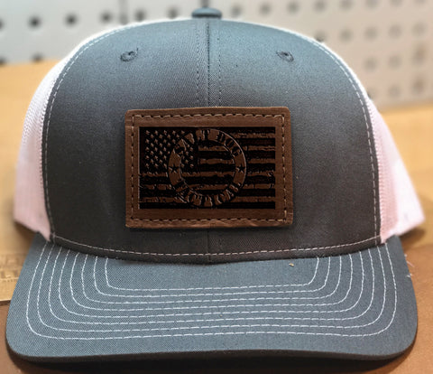 SDT LEATHER TRUCKER HAT
