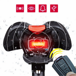 Anti-theft Bicycle Wireless Rear Light Alarm Lock
