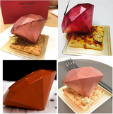 3D Diamond Mousse Cake Mold