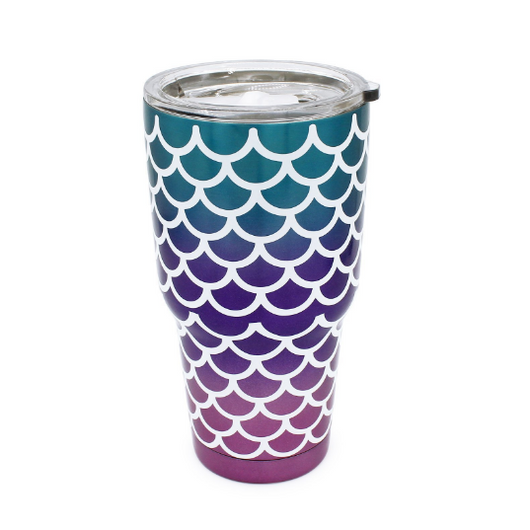 Mermaid Scales Tumbler Cup