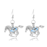 2017 Running Horse Glowing Earring