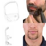 Goatee Beard Shaping Tool Template