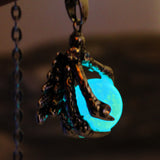 2017 Dragon Claw Glowing Necklace