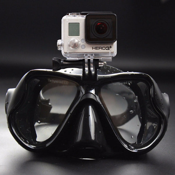 HOT SALE 2017 New Professional Underwater Camera Diving Mask